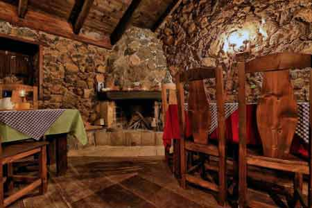 Esszimmer Hotel Rural Caserio