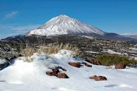 Verschneiter Teide, Teneriffa